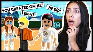 HE CHEATED ON HIS GIRLFRIEND WITH ME! - Roblox Roleplay