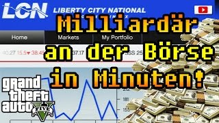 Grand Theft Auto 5 - Milliardär An Der Börse In Minuten! (Geld Glitch/PlayStation 4)