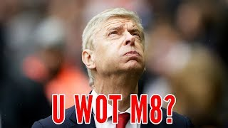 Wenger says no to weed | u wot m8?
