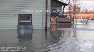 03-17-2019 Colona, IL Record Flooding Impacts Farms and Neighborhoods