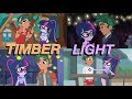 TIMBER LIGHT MOMENTS Equestria Girls Season 1 mp3
