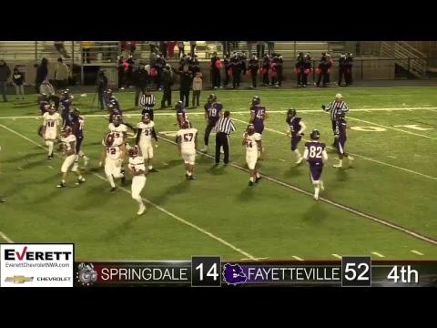 Springdale Bulldog Football | SHS vs Fayetteville