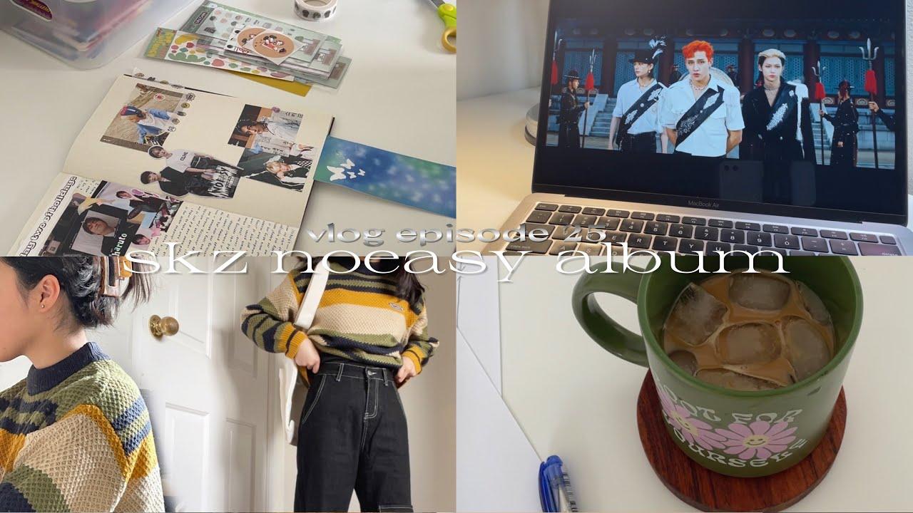 Download s2 vlog ⚡️ skz noeasy album, online school and new packages!