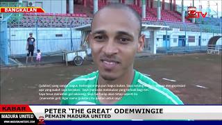 Video Julukan Peter Odemwingie Adalah 'The Great' dari Publik Sepakbola Madura download MP3, 3GP, MP4, WEBM, AVI, FLV Oktober 2017