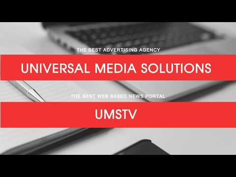 Universal Media Solutions launches UMSTV | UMSTV