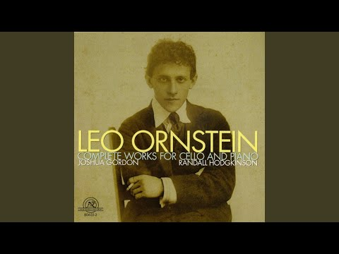 Sonata No. 1 For Cello And Piano, Op. 52: II. Andante Sostenuto