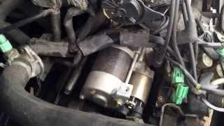 1996 Honda Accord Starter Motor Replacement