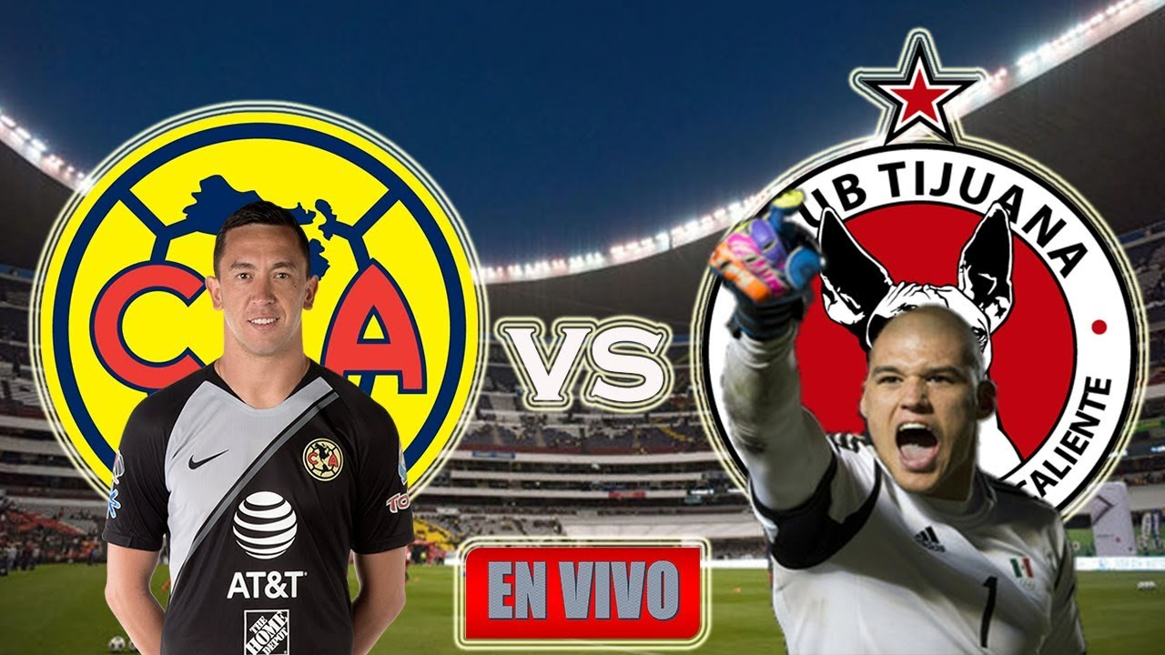 America Vs Xolos De Tijuana En Vivo Jornada 13 Liga Mx