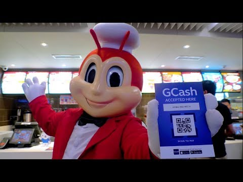 Scan to Pay with GCash QR at Jollibee! - YouTube