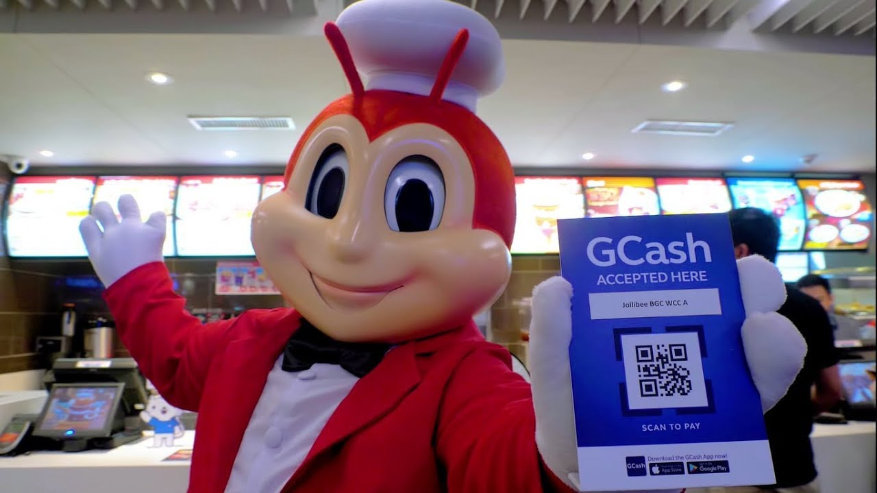 Scan to Pay with GCash QR at Jollibee!