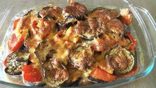 Запеканка из баклажанов с помидорами - рецепт для лакто-ово-вегетарианцев