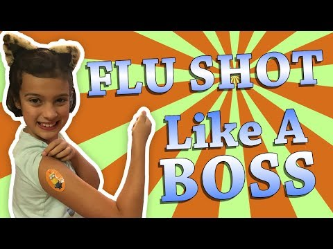 How to get your kid to get a Flu Shot !