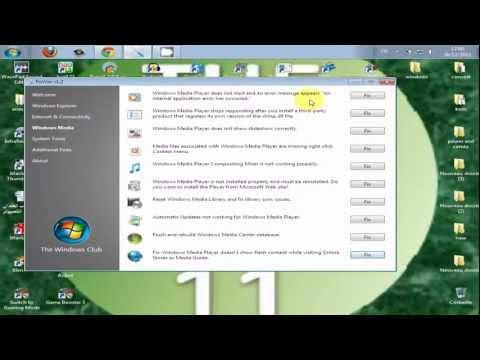 windows media player_طريقة اصلاح مشاكل ال