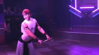 Мужской танец живота   саиди 1 танец с тростью