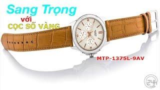 Review Đồng Hồ Chính Hng Casio MTP-1375L-9AVDF [dongho24h.com]