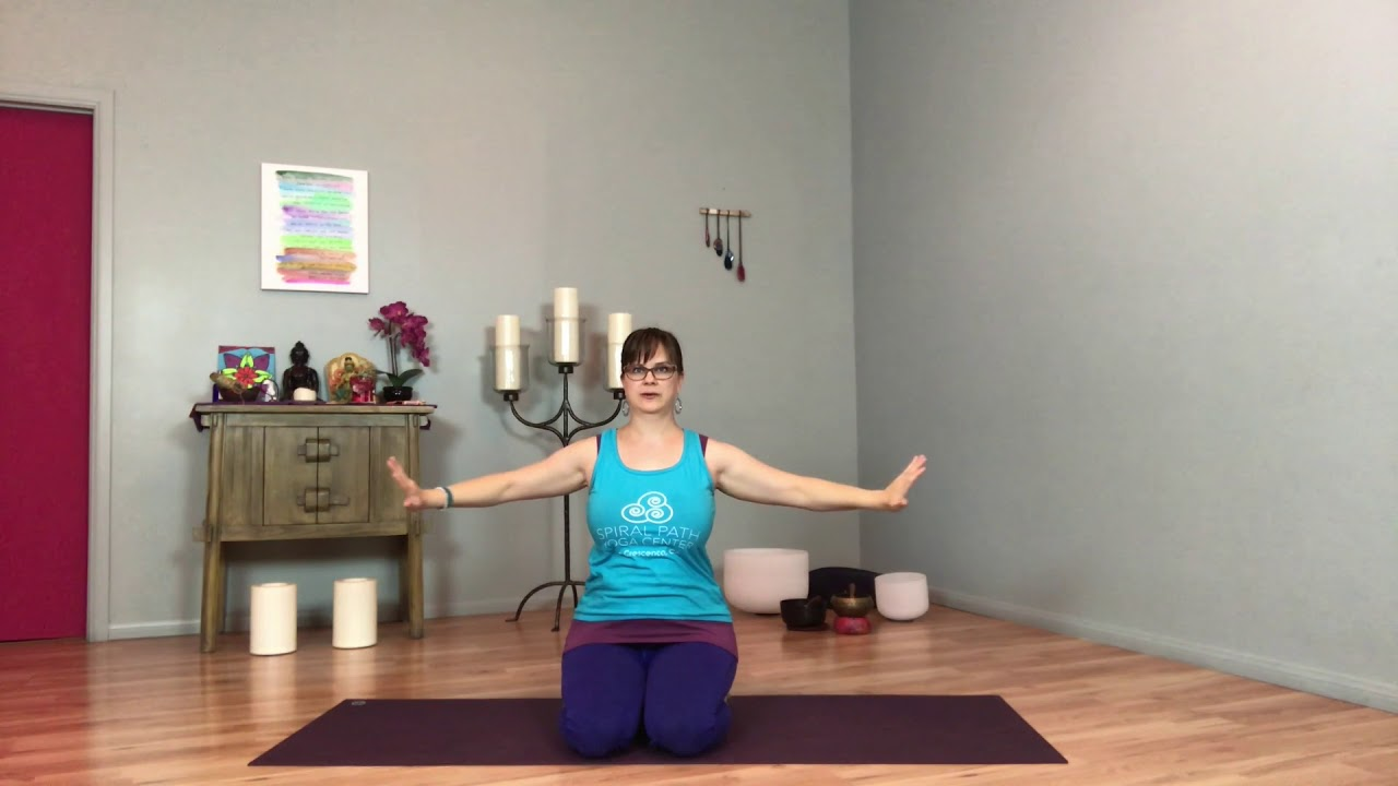 Taoist 4-Part Breath - Sample Class from Online Mindful Yoga & Meditation  Library