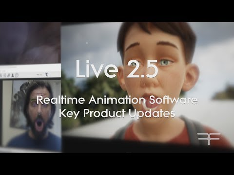Live 2.5 – Realtime Animation Software Key Product Updates