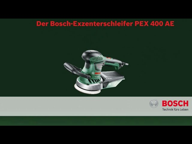 bosch pex 400 ae set im koffer ab 89 90 preisvergleich bei. Black Bedroom Furniture Sets. Home Design Ideas