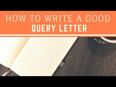 BJ Robbins: Tips for Writing a Good Query Letter