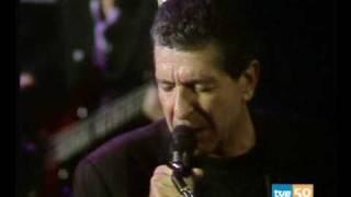 Leonard Cohen Joan Of Arc Donosti 1988 subtitulos en castellano