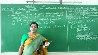 I PUC/ STATISTICS/ RANDOM VARIABLES AND MATHEMATICAL EXPECTATIONS-10