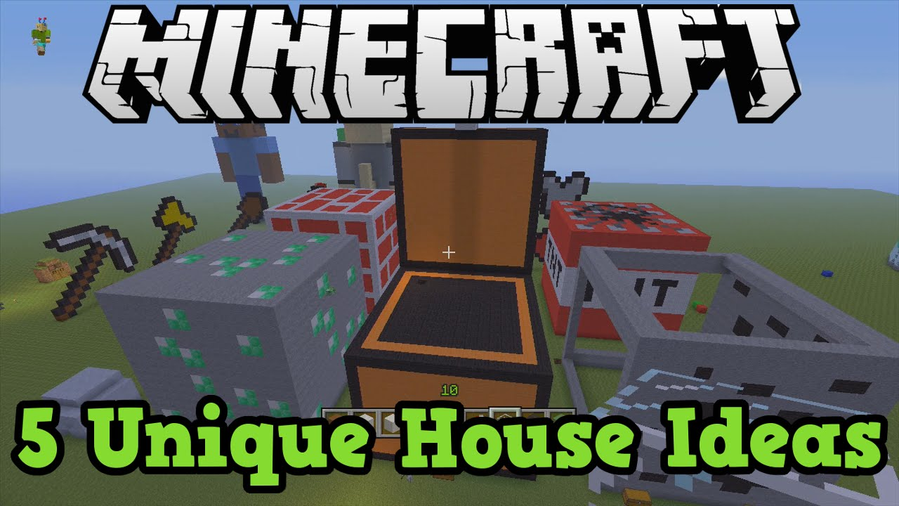 Minecraft Xbox Ps3 5 House Ideas Youtube