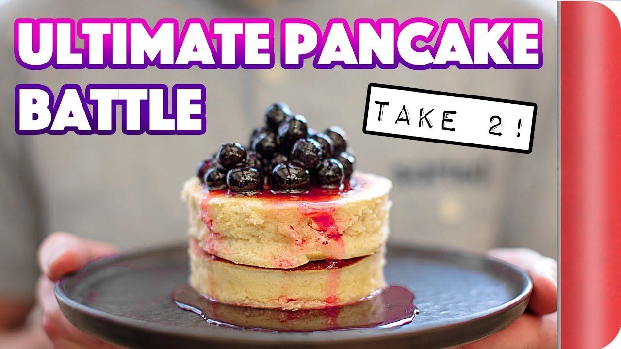 The ULTIMATE PANCAKE BATTLE - Take 2! #ad