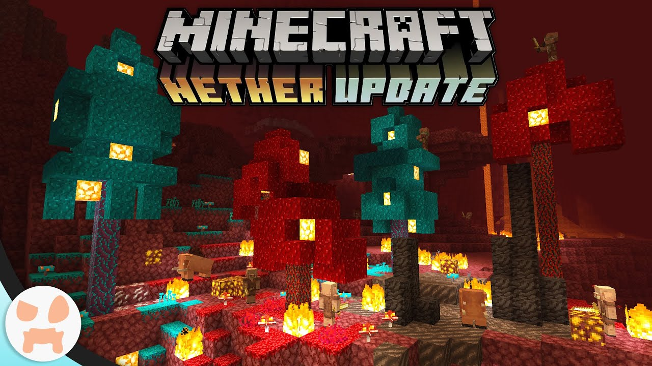 This Mod Adds the NETHER UPDATE into Minecraft and it s Amazing