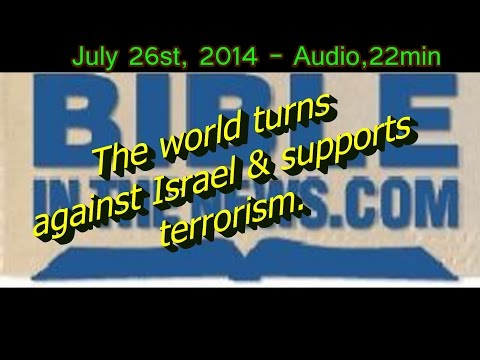 Bible Prophecy: World Turns Against Israel & Supports Gaza- Anti Semitism Rages in Europe