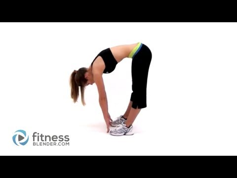 Standing Toe Touch Stretch