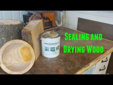 Sealing & Drying Wood with ANCHORSEAL