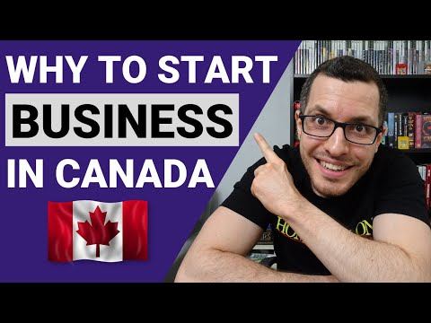 WHY You SHOULD START a BUSINESS in CANADA | Tax Benefits of Self-Employed | Canadian Business Guide