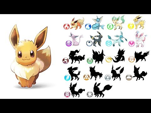 All 18 Type Eeveelution - Future Pokemon Evolution.