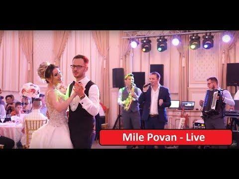 Mile Povan - LIVE || Ce frumoasă eşti nevasta mea || Tu esti femeia cu parfum de trandafir