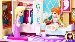 Adding Furniture to Arendelle Castle - Frozen 2 Lego Build