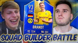 FIFA 19: TOTS JULIAN BRANDT SQUAD BUILDER BATTLE vs. IAMTABAK 🔥😍