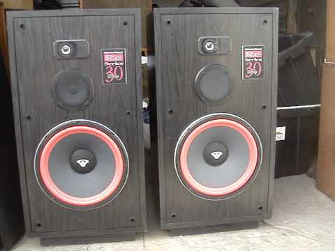 Cerwin - Vega RE 30 Series speakers NICE