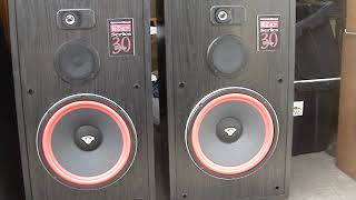 Cerwin - Vega RE 30 Series speakers NICE