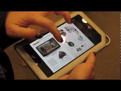 Barnes & Noble NOOK Tablet launch event demo