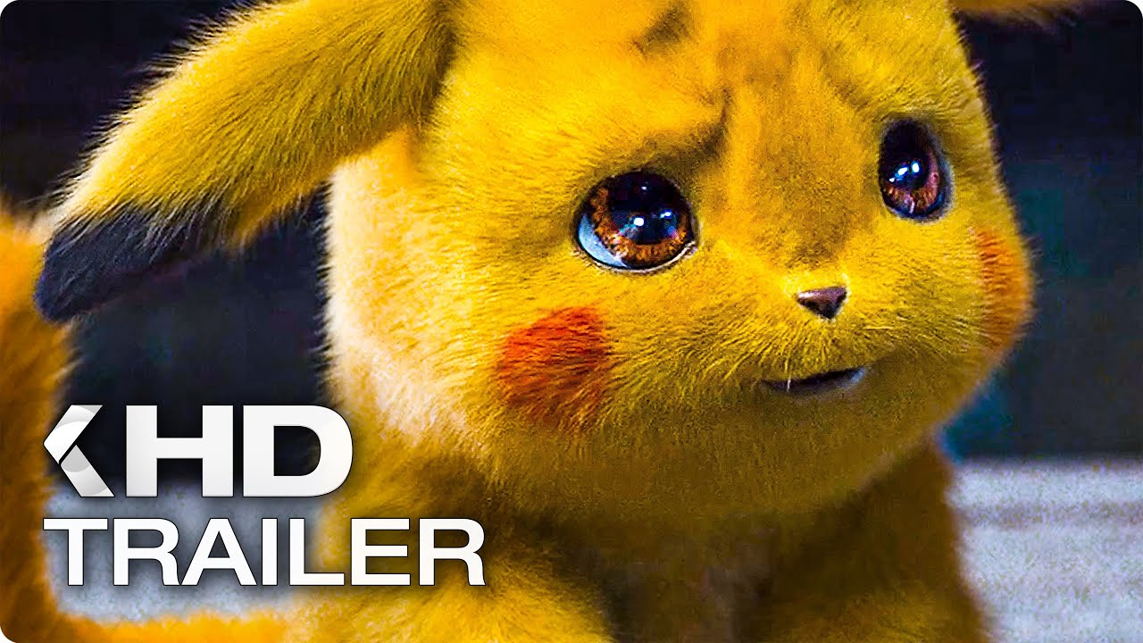 Pokemon Meisterdetektiv Pikachu Trailer German Deutsch 2019 Youtube