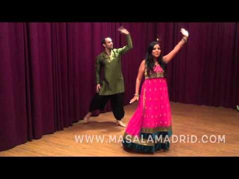 """Tutorial Bollywood """"Wedding Da Season"""" Bolly-Flash Club Masala Madrid"""