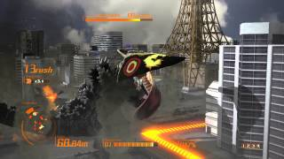 PS3:-GODZILLA- 4th Stage First Time Gameplay