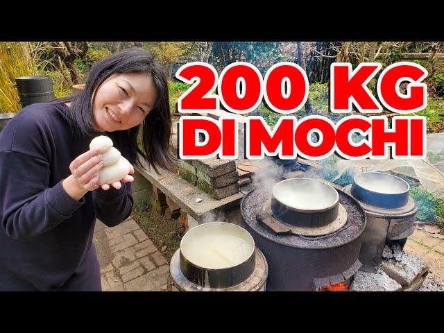 200KG DI MOCHI - CAMPAGNA GIAPPONESE, MOCHITSUKI