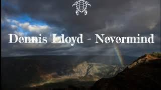 Dennis Lloyd - Nevermind Lyrics Video