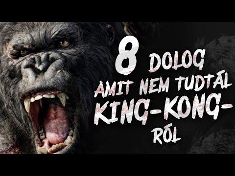 8 dolog, amit NEM tudtál King Kong-ról
