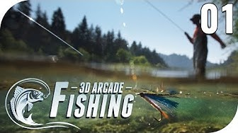 3D ARCADE FISHING #1 - SO EIN GEILES ANGELSPIEL! 🎣😂 || Lets Play Arcade Fishing || PantoffelPlays
