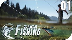 3D ARCADE FISHING #1 - SO EIN GEILES ANGELSPIEL! 🎣😂 || Lets Play Arcade Fishing || PantoffelPlays