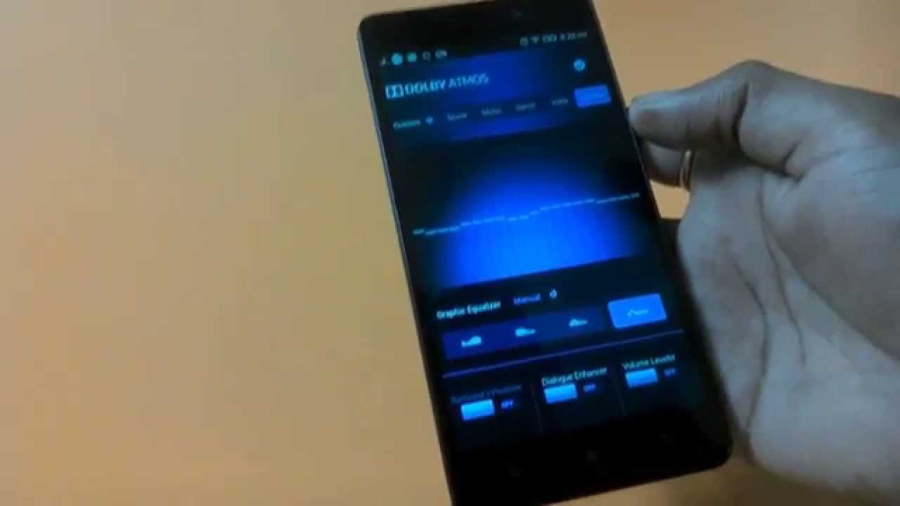 Lenovo K3 Note dolby atmos feature