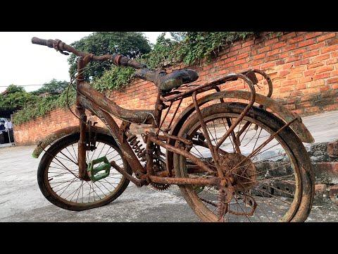 Restoration Old Rusty Kids Bike | Rebuild Children Bicycle thumbnail