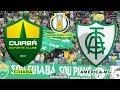 Cuiabá X América-MG | Campeonato Brasileiro Série B - 35ª Rodada | Gameplay [PES2020]